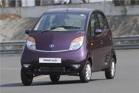 New Tata Nano Twist photo gallery