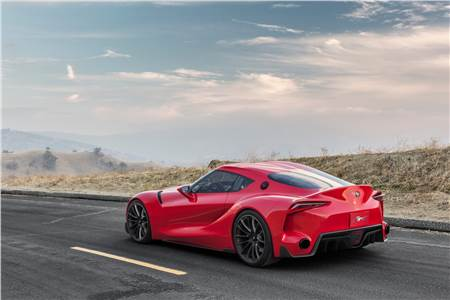 Toyota FT-1 Sports Coupe Concept photo gallery