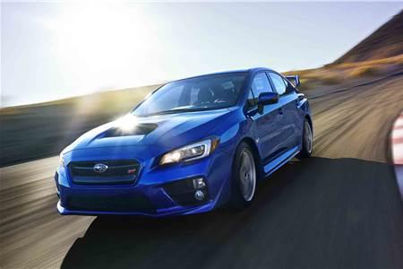 New Subaru WRX STI photo gallery