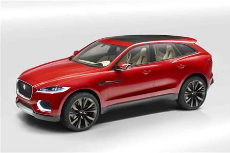 New Jaguar C-X17 SUV photo gallery