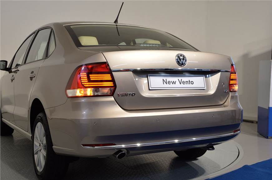 volkswagen vento facelift photo gallery autocar india