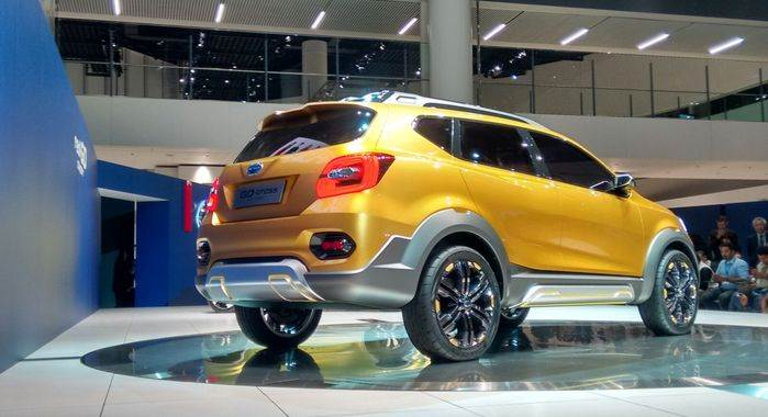 Datsun Go-Cross concept photo gallery - Autocar India