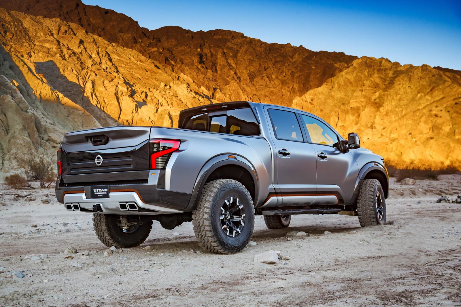 Nissan Titan Warrior Concept Photo Gallery Autocar India