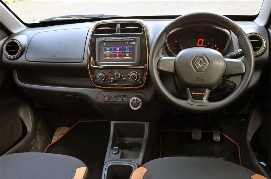 renault kwid climber interior and exterior images autocar india. Black Bedroom Furniture Sets. Home Design Ideas