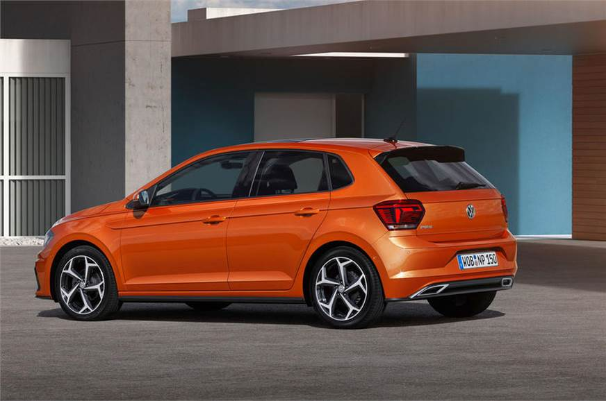 all new volkswagen polo 2018 interior and exterior images and autocar india. Black Bedroom Furniture Sets. Home Design Ideas