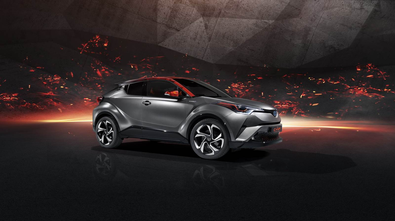 Toyota C-HR Hy-Power concept image gallery