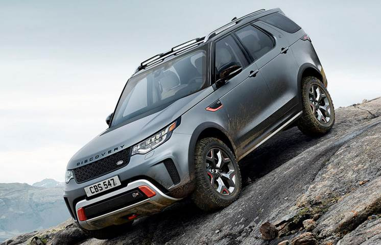 2017 Land Rover Discovery SVX image gallery