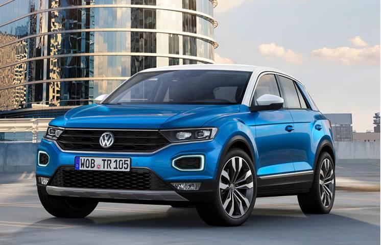 2018 Volkswagen T-Roc image gallery