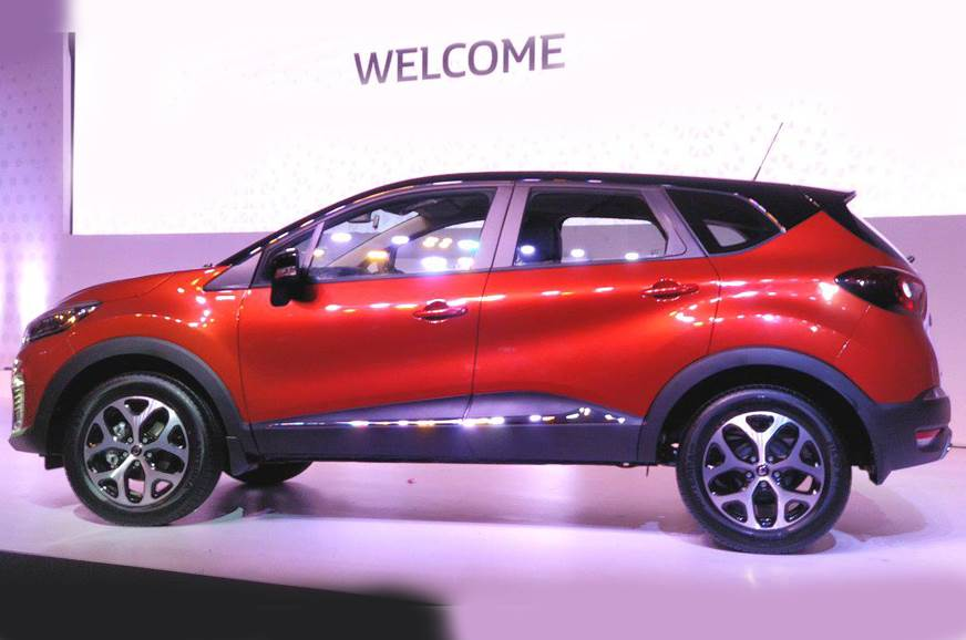 Renault Captur Suv Exterior And Interior Images And More