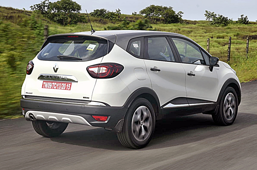 renault captur suv exterior and interior images and more details autocar india. Black Bedroom Furniture Sets. Home Design Ideas