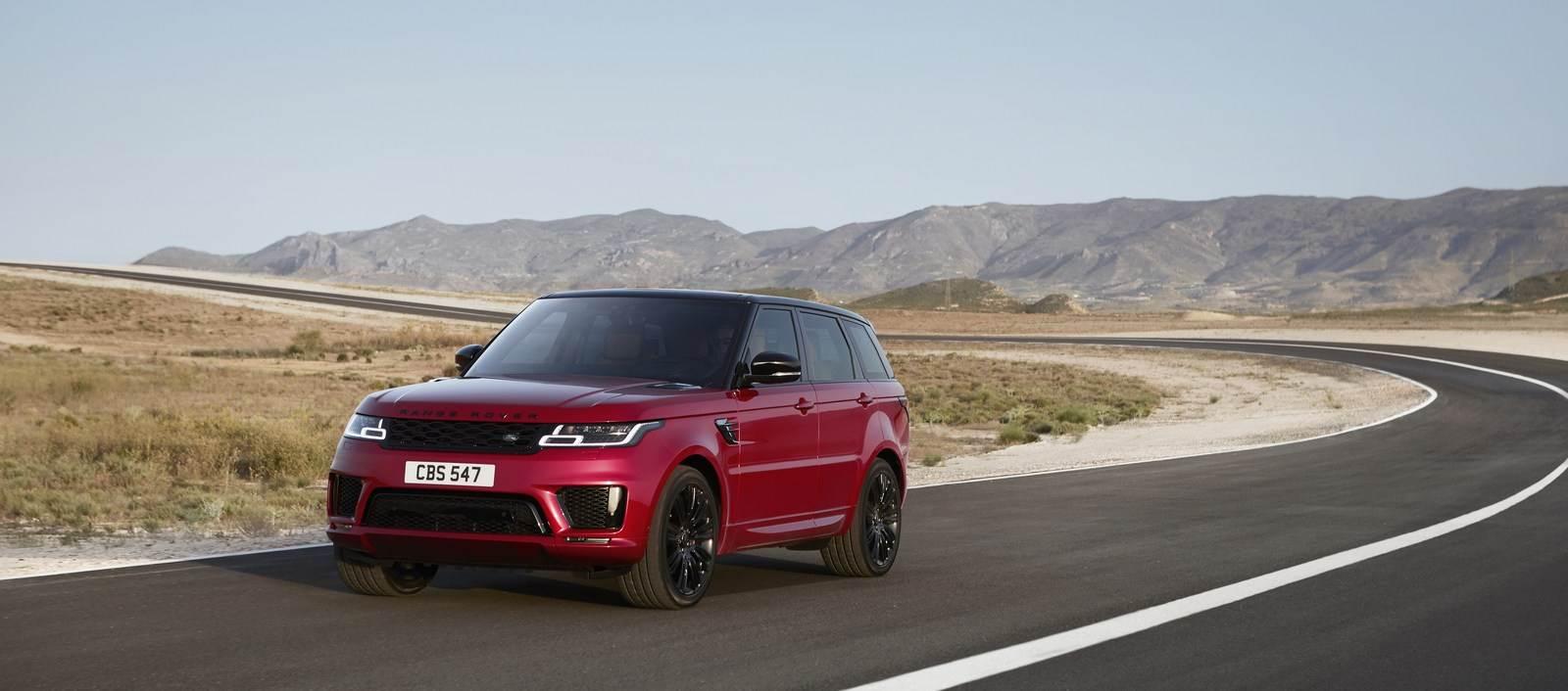2018 Range Rover Sport facelift image gallery
