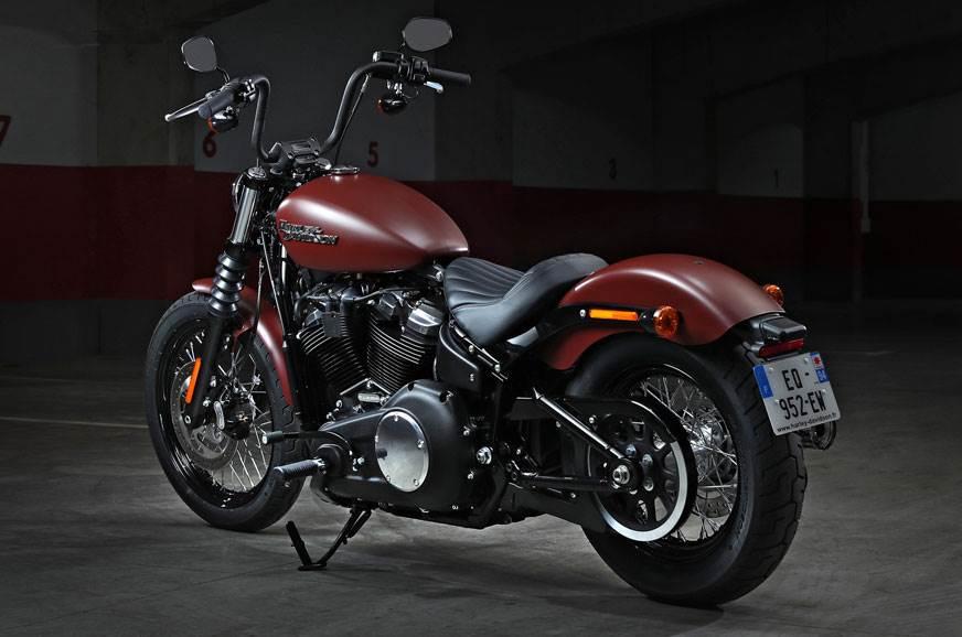 2018 Harley Davidson Street Bob Image Gallery Autocar India