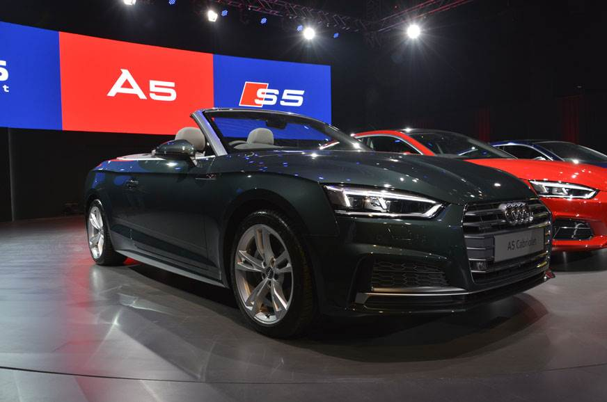 2017 Audi A5 Cabriolet image gallery