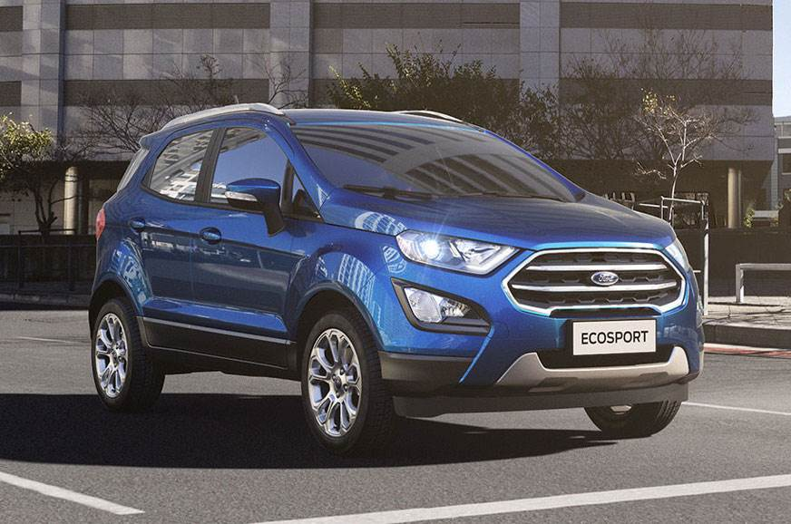 2017 Ford EcoSport facelift image gallery