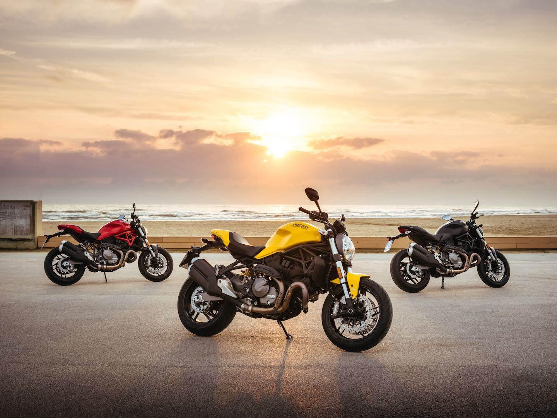 2018 Ducati Monster 821 image gallery