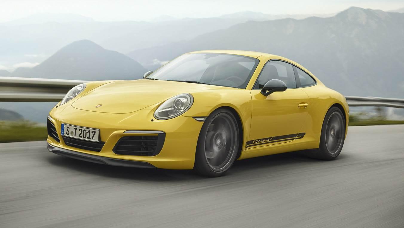Porsche 911 Carrera T image gallery