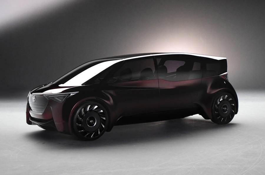 Toyota Fine-Comfort Ride concept image gallery