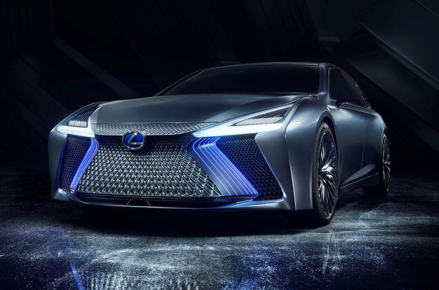 Lexus LS+ concept image gallery
