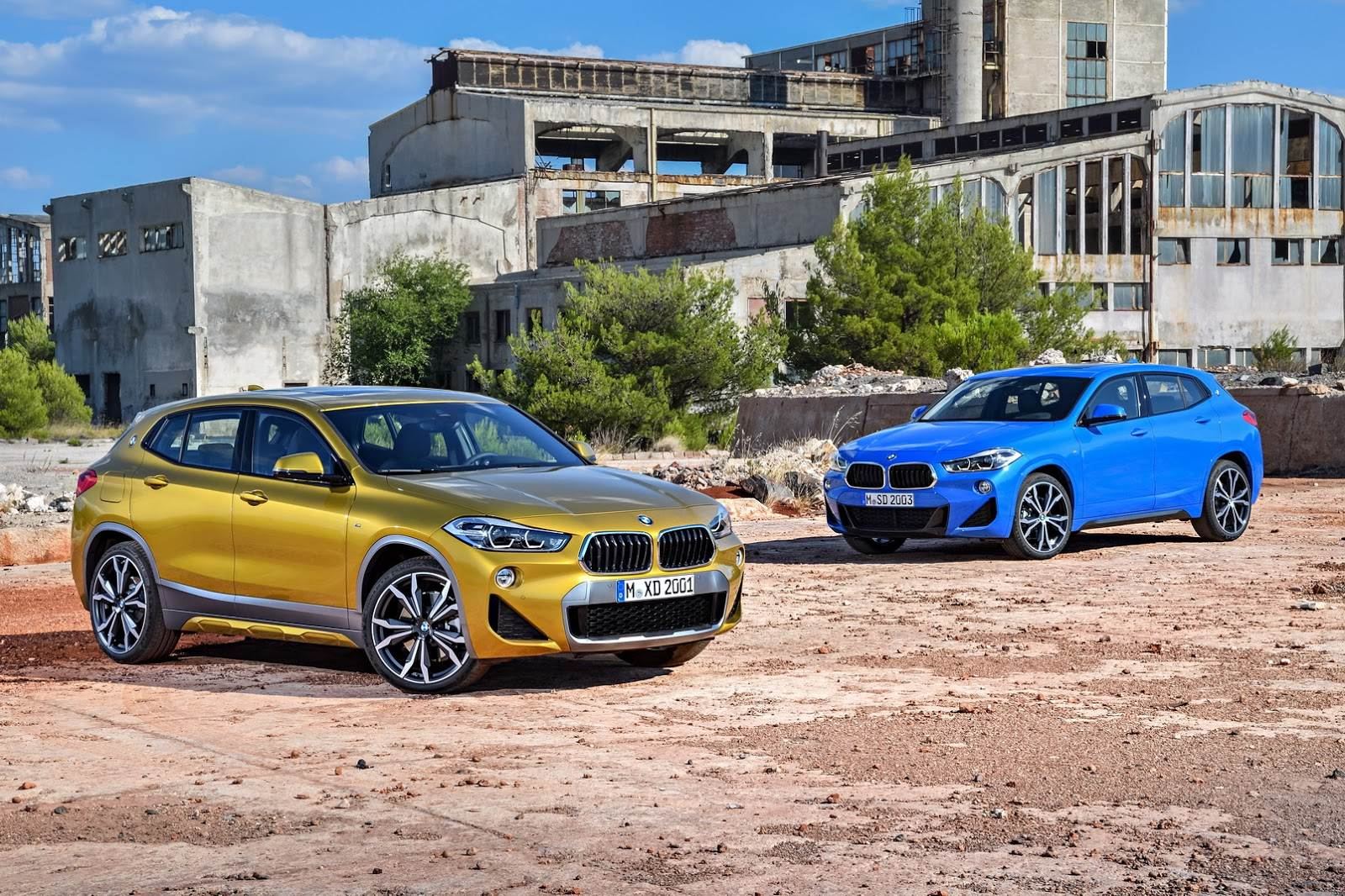2018 BMW X2 image gallery