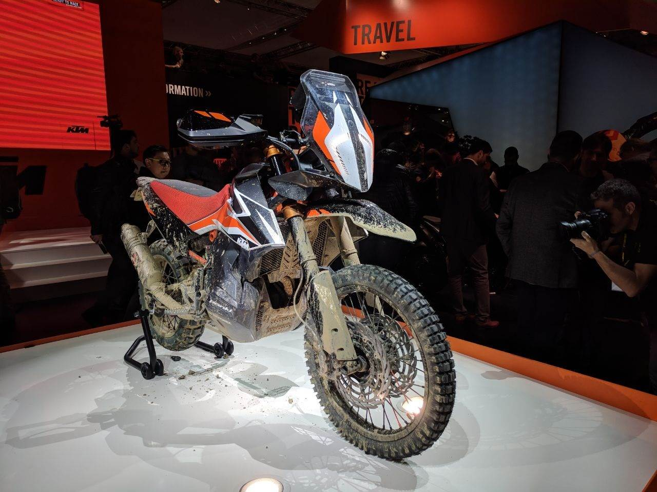 EICMA 2017 motorcycle show image gallery
