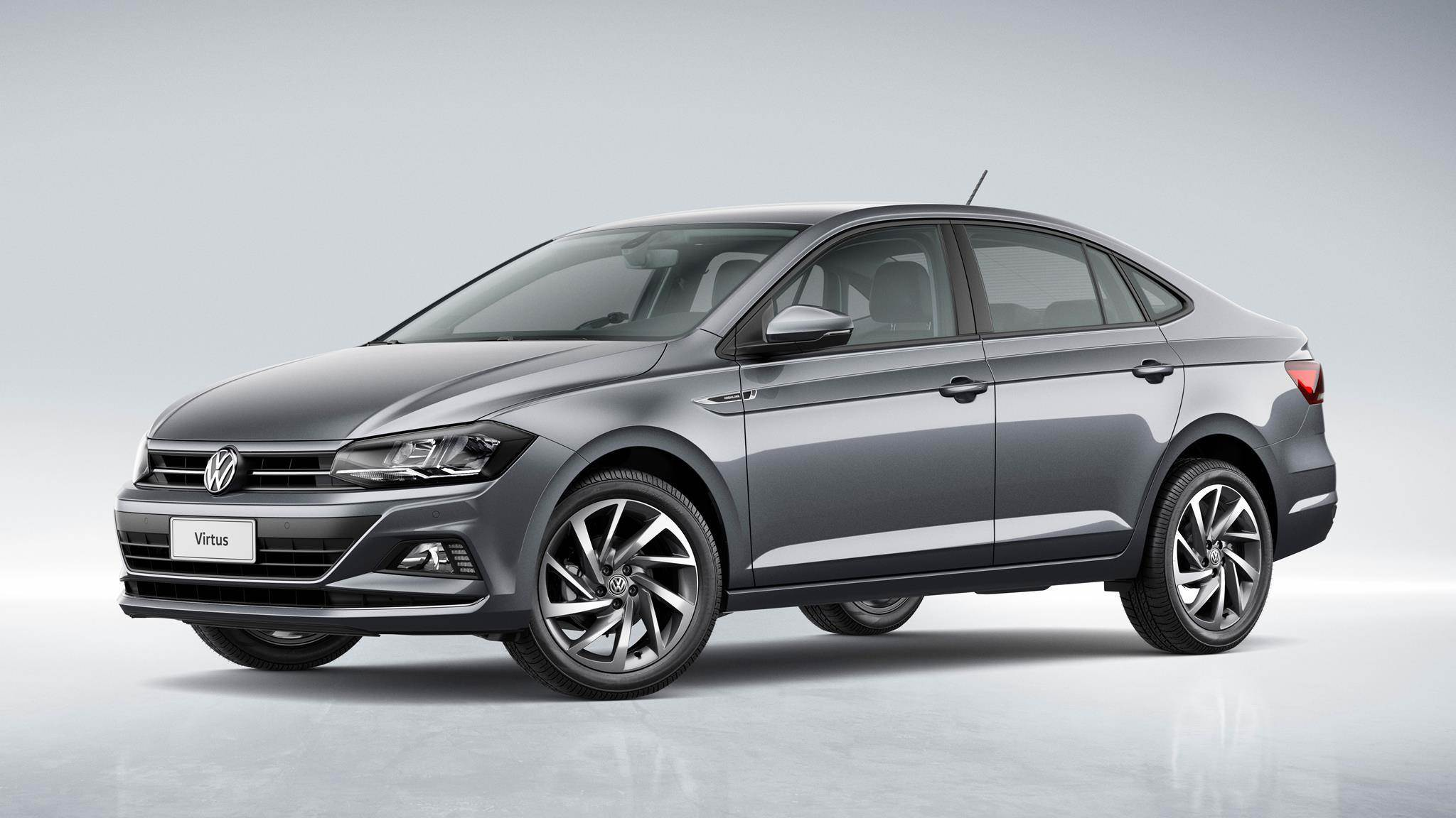 2018 Volkswagen Virtus image gallery