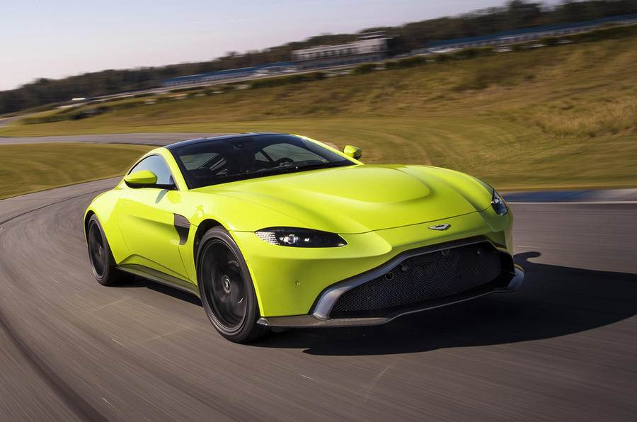 2018 Aston Martin Vantage image gallery