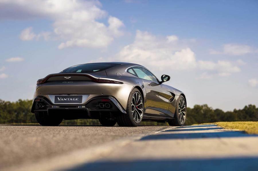 2018 Aston Martin Vantage Image Gallery Autocar India