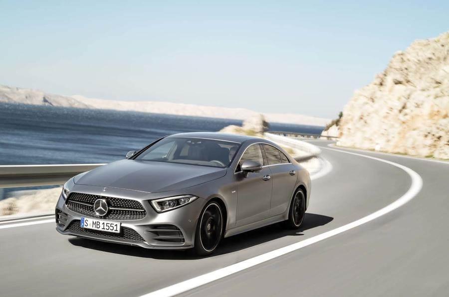 2018 Mercedes-Benz CLS image gallery
