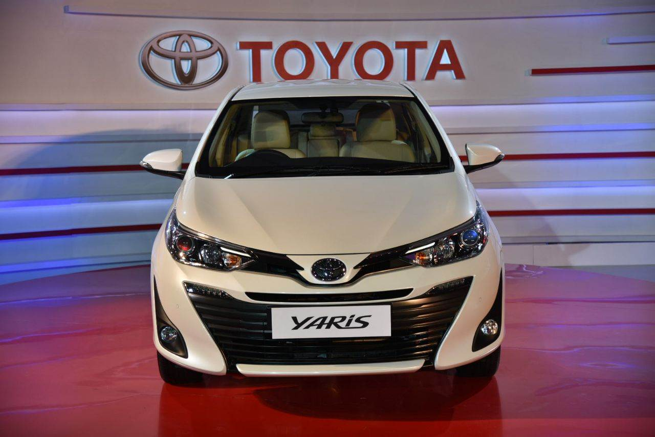2018 Toyota Yaris sedan India image gallery
