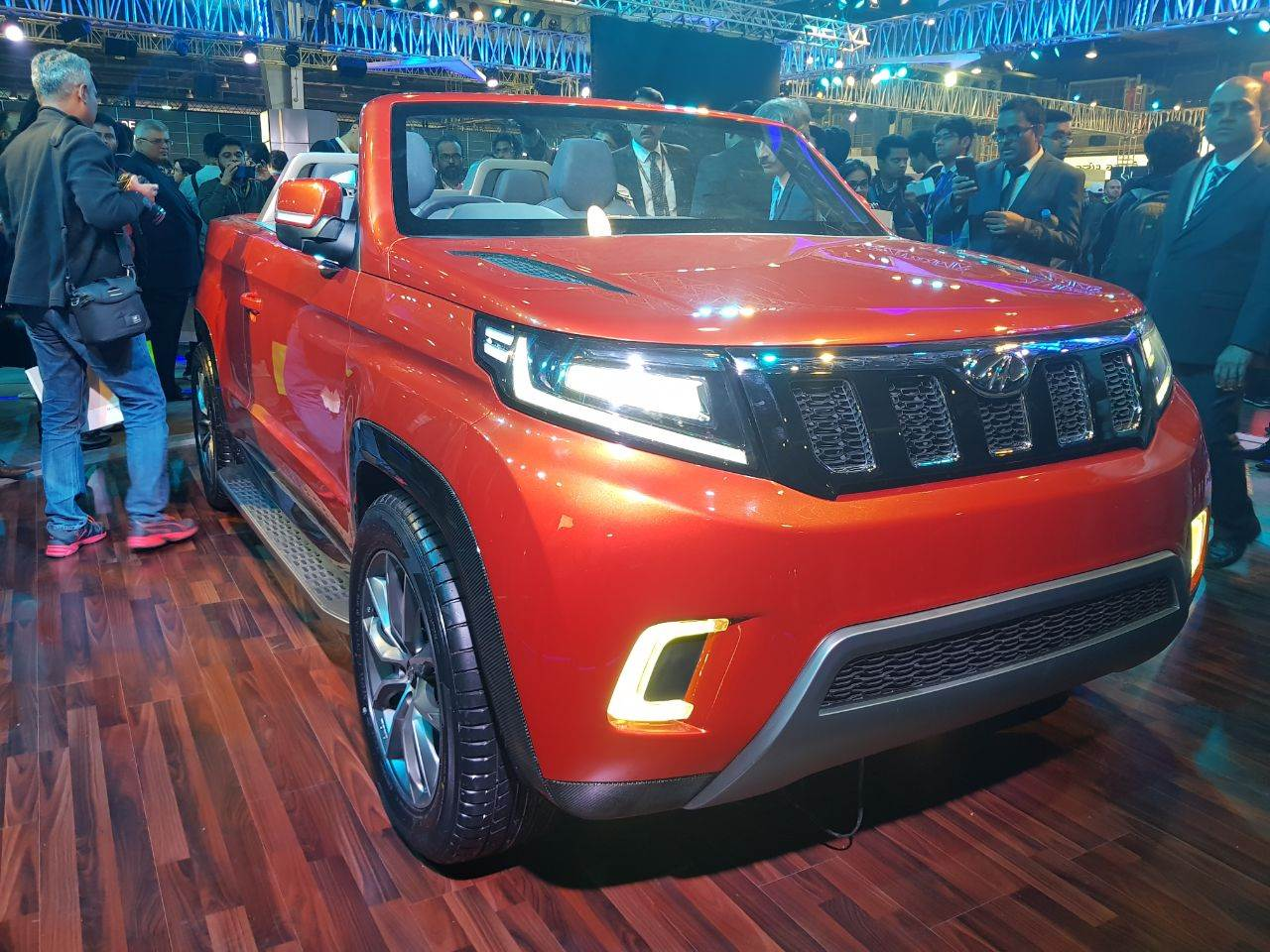 Mahindra Stinger concept image gallery