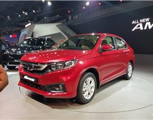 New 2018 Honda Amaze image gallery
