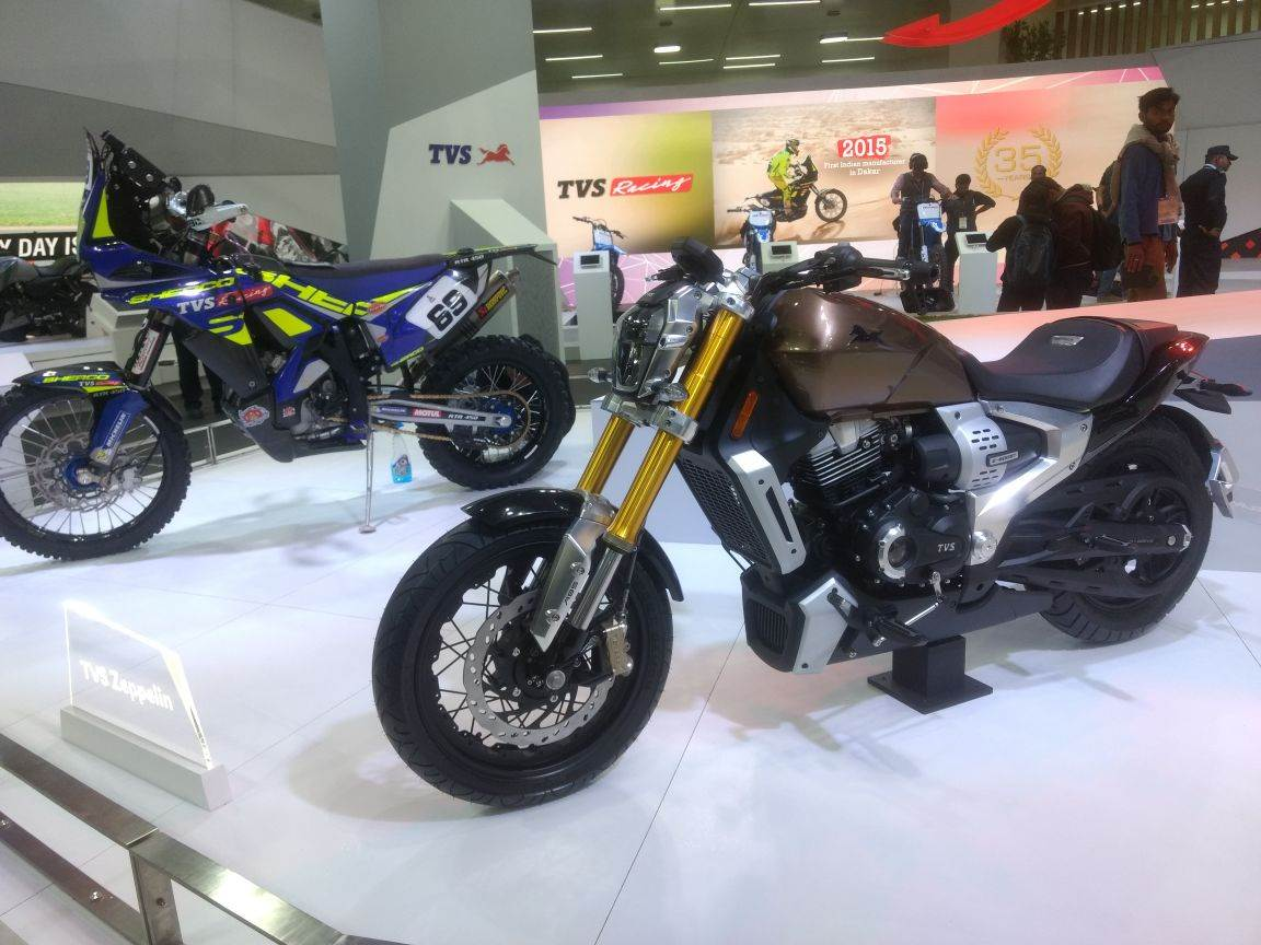 Auto Expo 2018 bikes and scooters image gallery