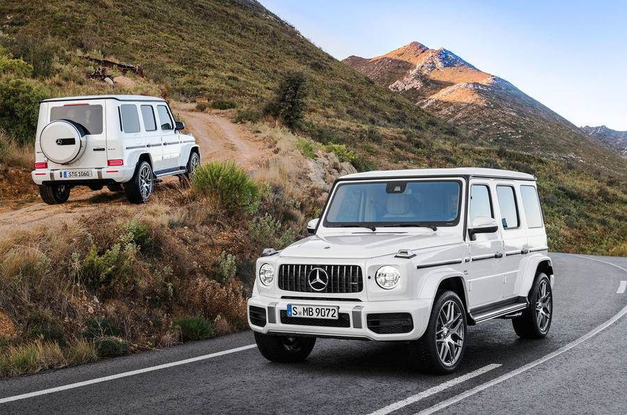 2018 Mercedes-AMG G 63 image gallery