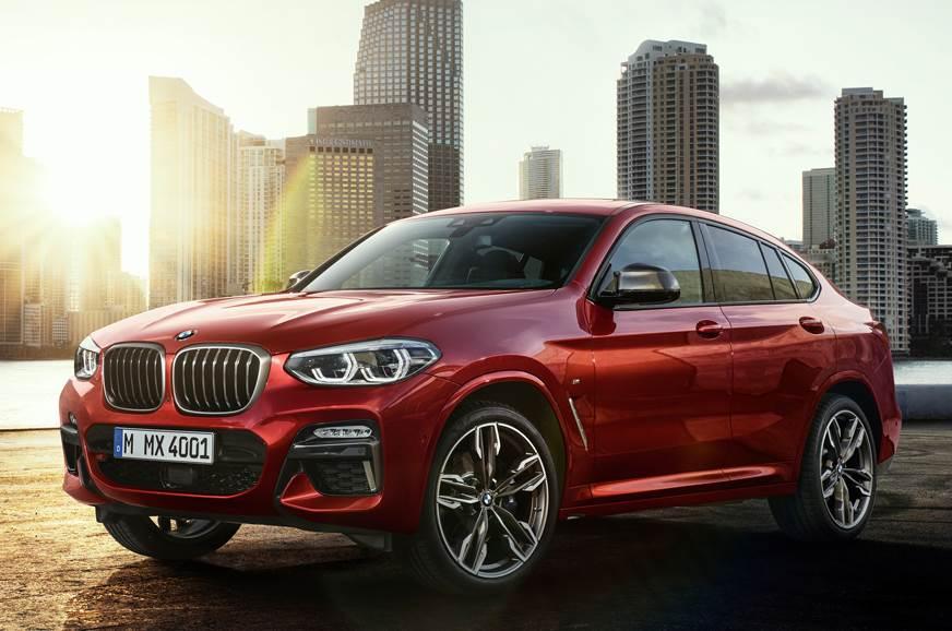 2018 BMW X4 SUV image gallery