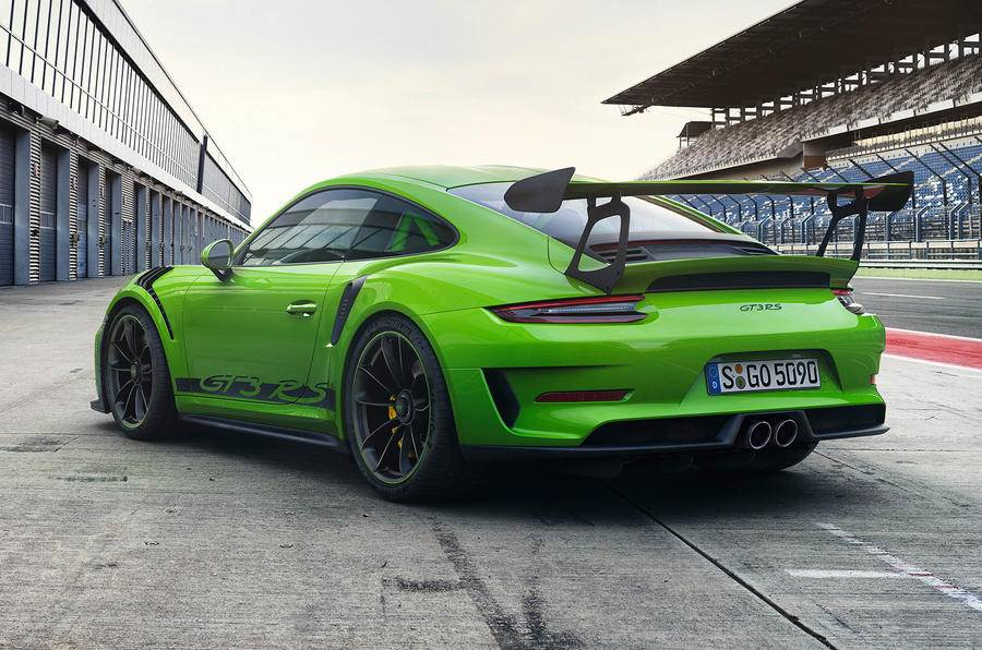 2018 Porsche 911 Gt3 Rs Image Gallery Autocar India