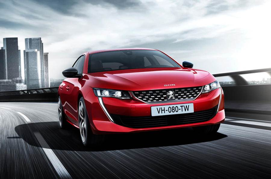 2018 Peugeot 508 image gallery