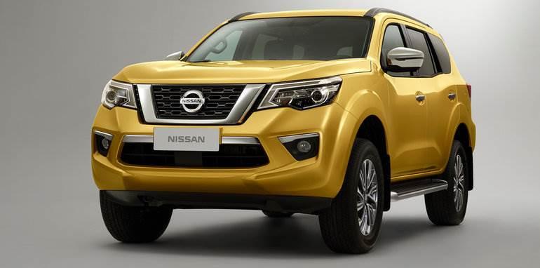 2018 Nissan Terra SUV image gallery