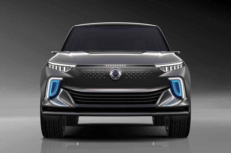 Ssangyong e-SIV concept SUV image gallery