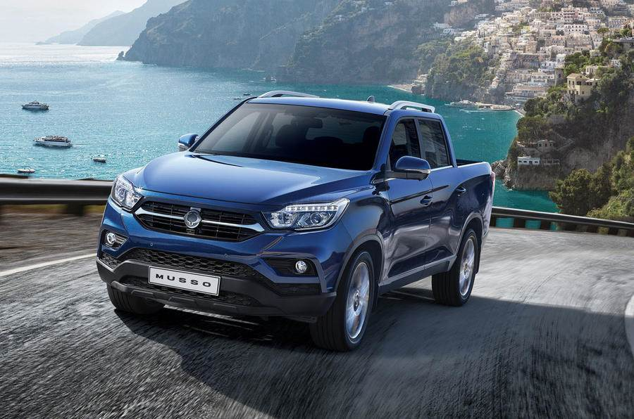 SsangYong Musso pick-up image gallery