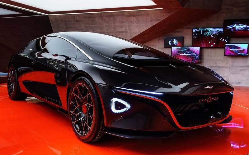 Aston Martin Lagonda Vision Concept image gallery