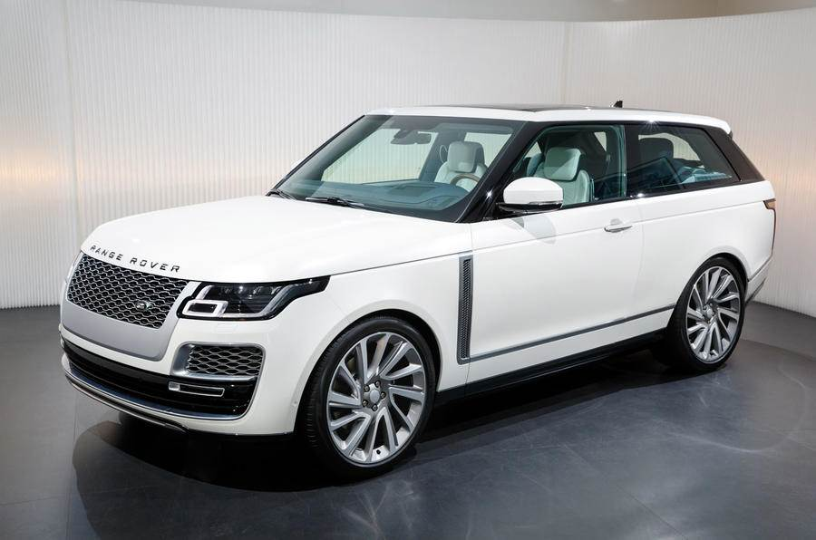 Range Rover SV Coupe image gallery