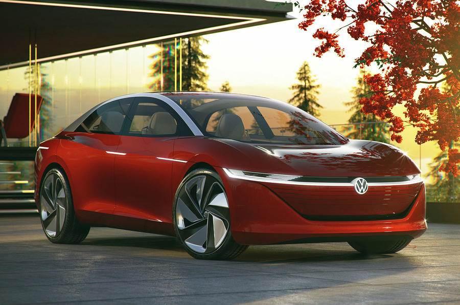 Volkswagen I.D. Vizzion sedan concept image gallery