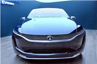 Tata EVision sedan concept image gallery