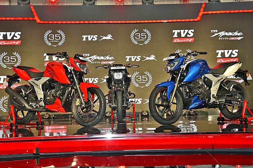 2018 TVS Apache RTR 160 4V image gallery