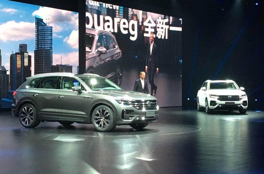 2018 Volkswagen Touareg image gallery