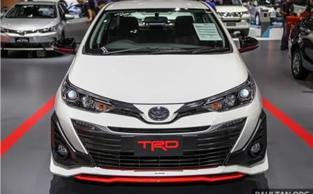 Toyota Yaris Ativ TRD image gallery