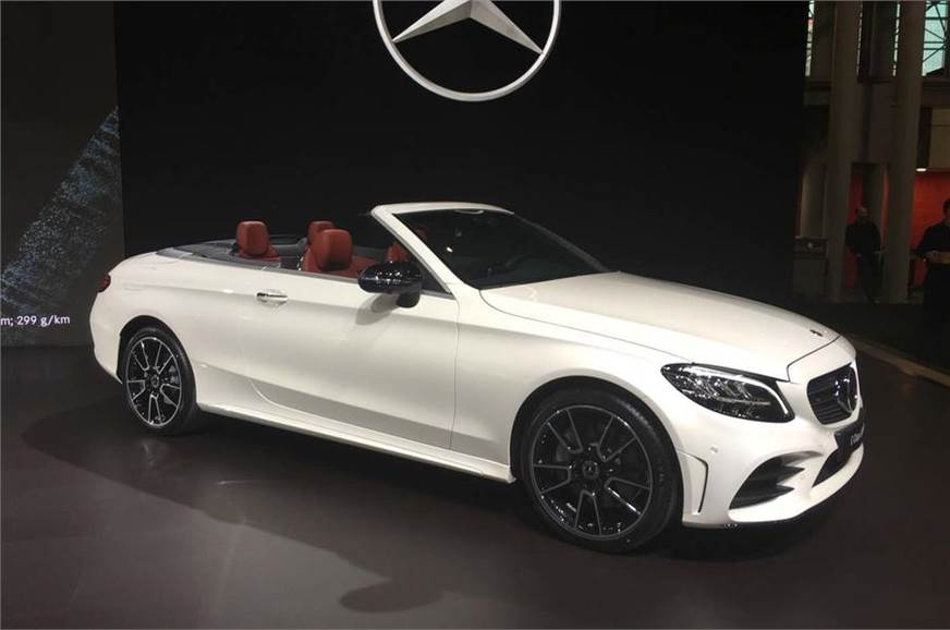 2018 new york international auto show image gallery autocar india - Mercedes c class coupe convertible ...