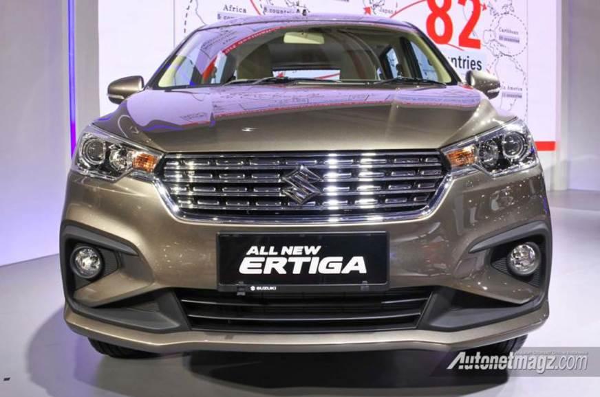 2018 Suzuki Ertiga image gallery