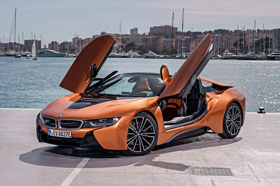 2018 Bmw I8 Roadster Convertible Hybrid Supercar Image