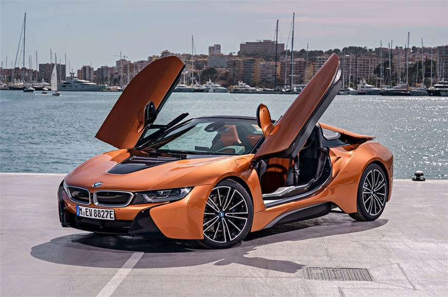 2018 bmw i8 roadster convertible hybrid supercar image gallery autocar india. Black Bedroom Furniture Sets. Home Design Ideas